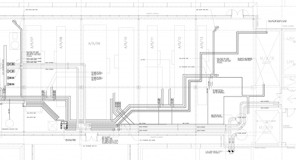 As Installed drawings, record drawing mark up CAD