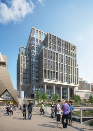 UAL Stratford, CAD SERVICES project